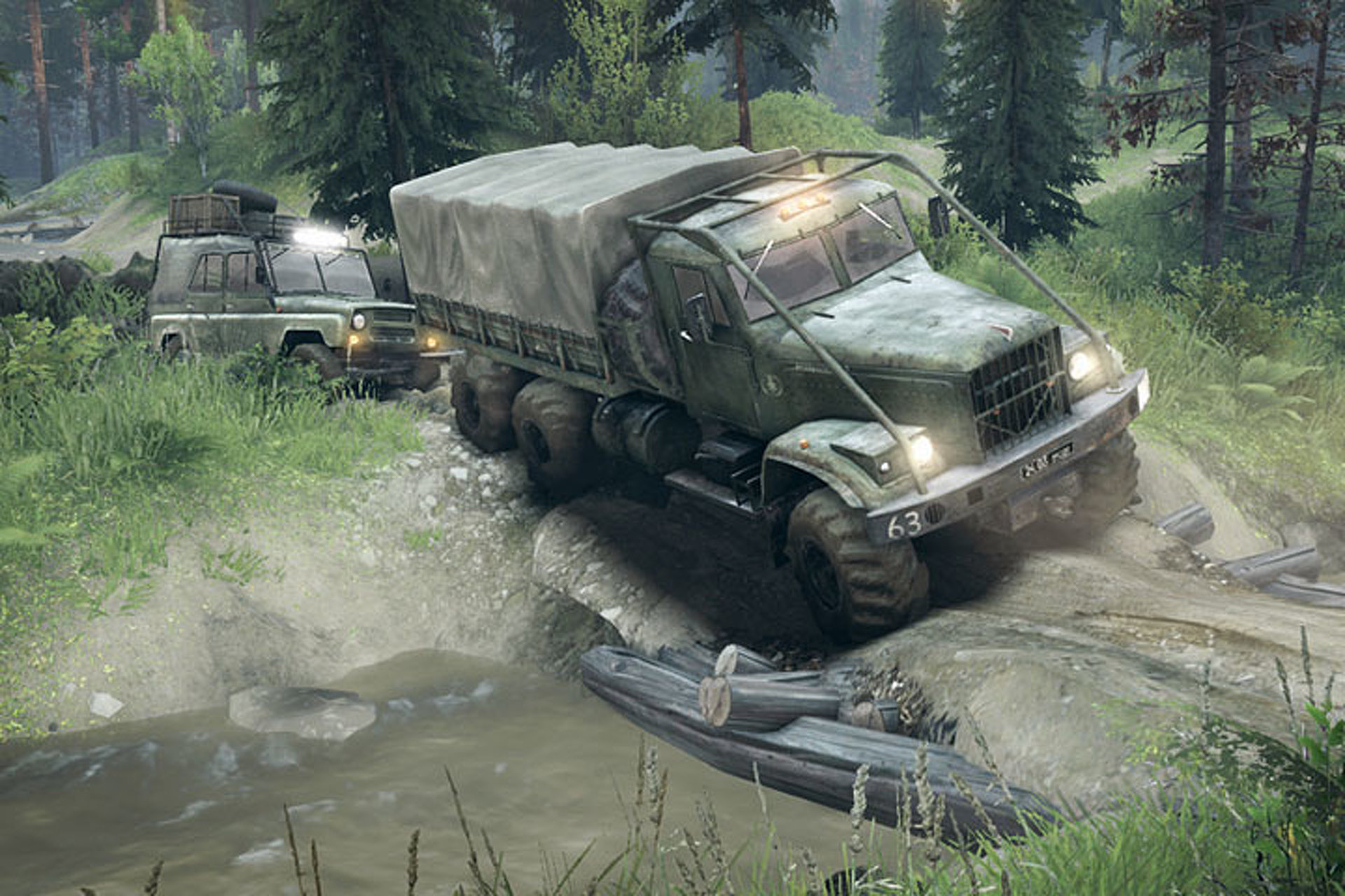 Spintires: The Game for Off-Roading from an Armchair [Video]