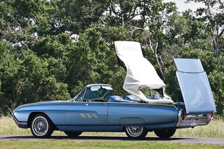 The Distinctive Ford Thunderbird of the Early Sixties