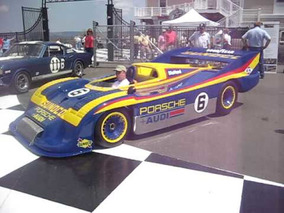 Ex-Roger Penske / Mark Donohue Can Am Porsche 917-30 S/N 004 starts up and drives away