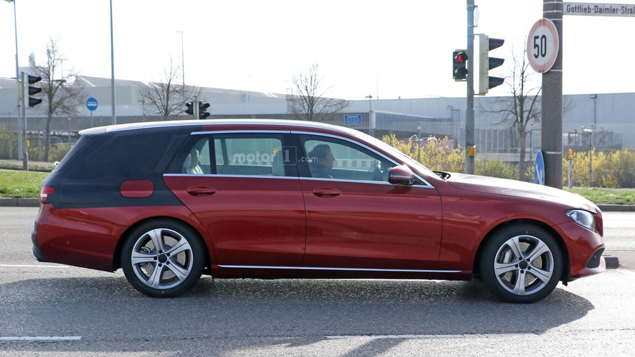 2017 Mercedes E Class Estate spy photo