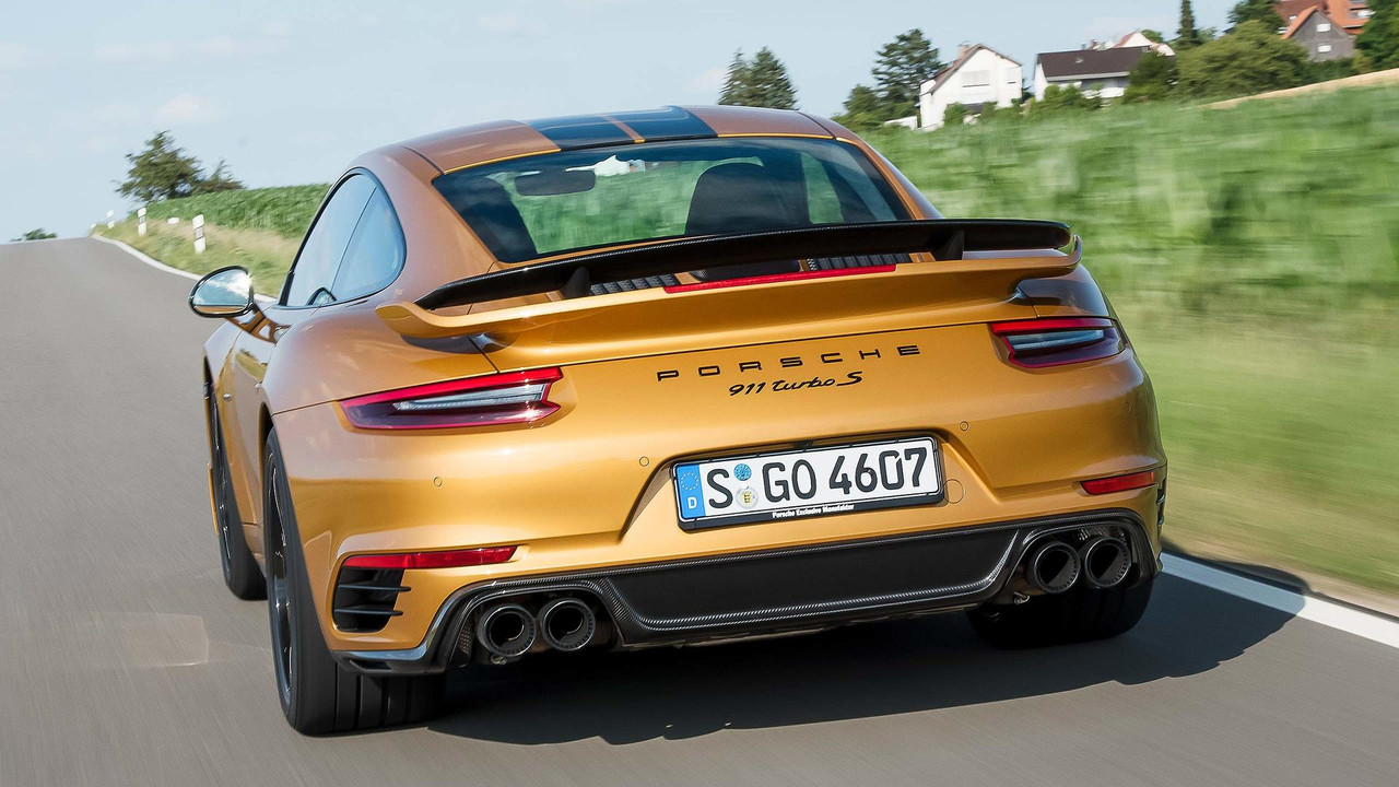 2017 porsche 911 turbo s exclusive series first drive really fast really expensive. Black Bedroom Furniture Sets. Home Design Ideas