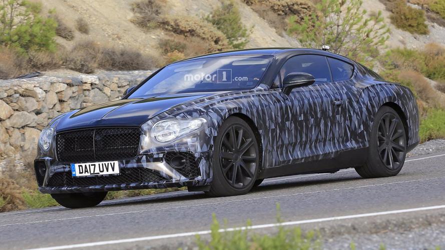 Bentley Continental GT kamuflajını döküyor