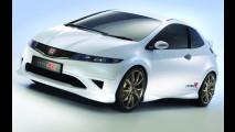 Honda Civic Type R, White Concept