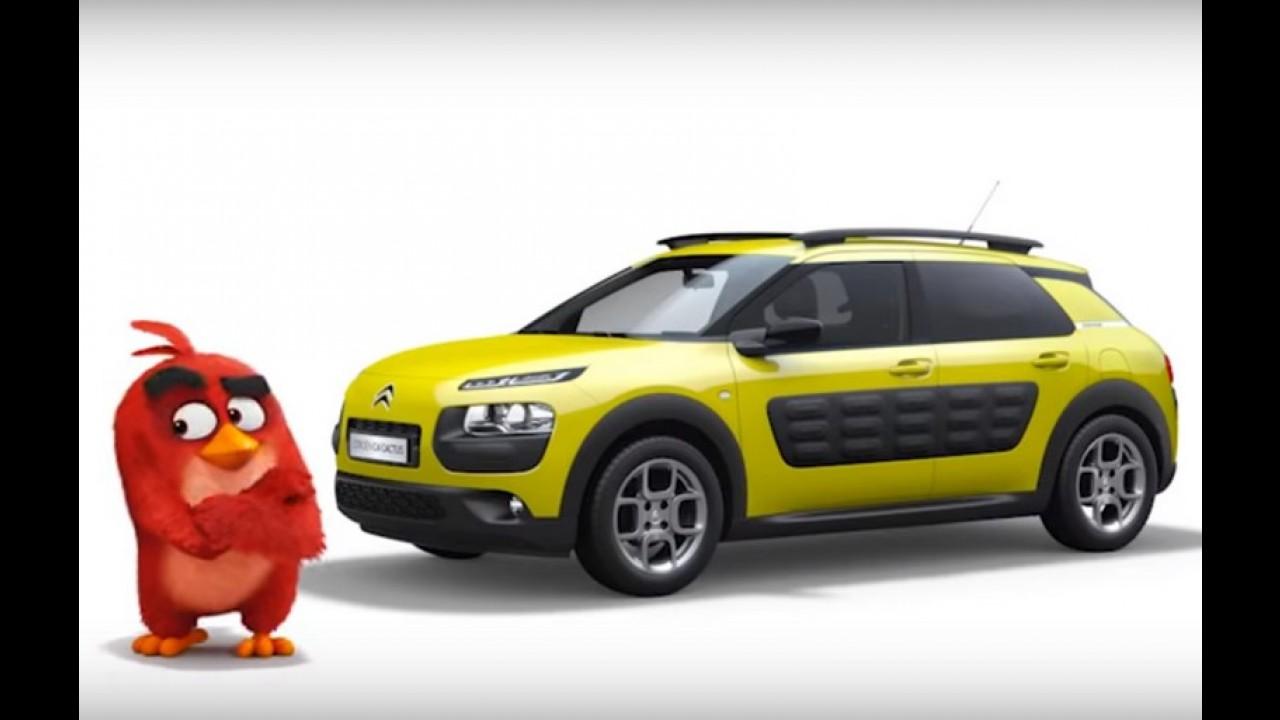 Citroën C4 Cactus é o carro do Angry Birds em nova campanha - vídeo