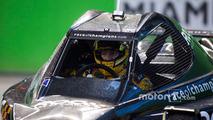 Kyle Busch driving the ROC Car
