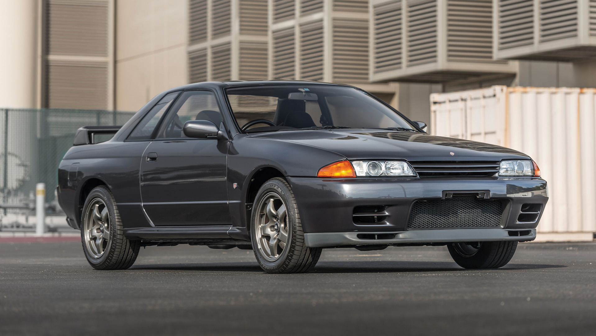 This bone stock Nissan Skyline R32 could be yours