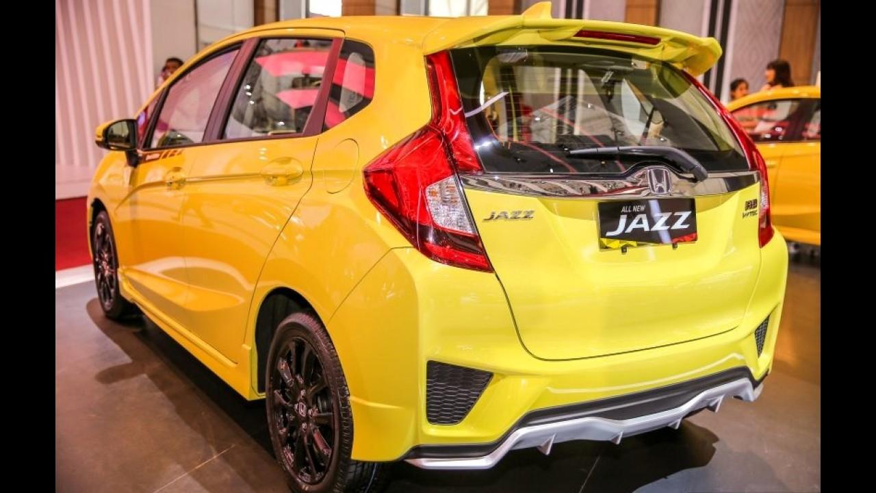 """""""Esportivo"""", Honda Fit RS Special Edition é apresentado na Ásia"""