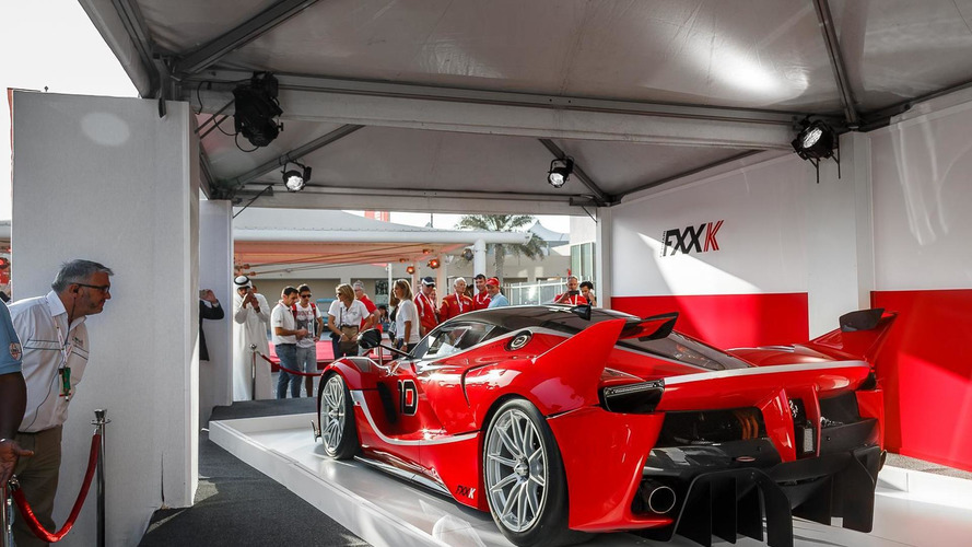 Ferrari FXX K returns in first live images