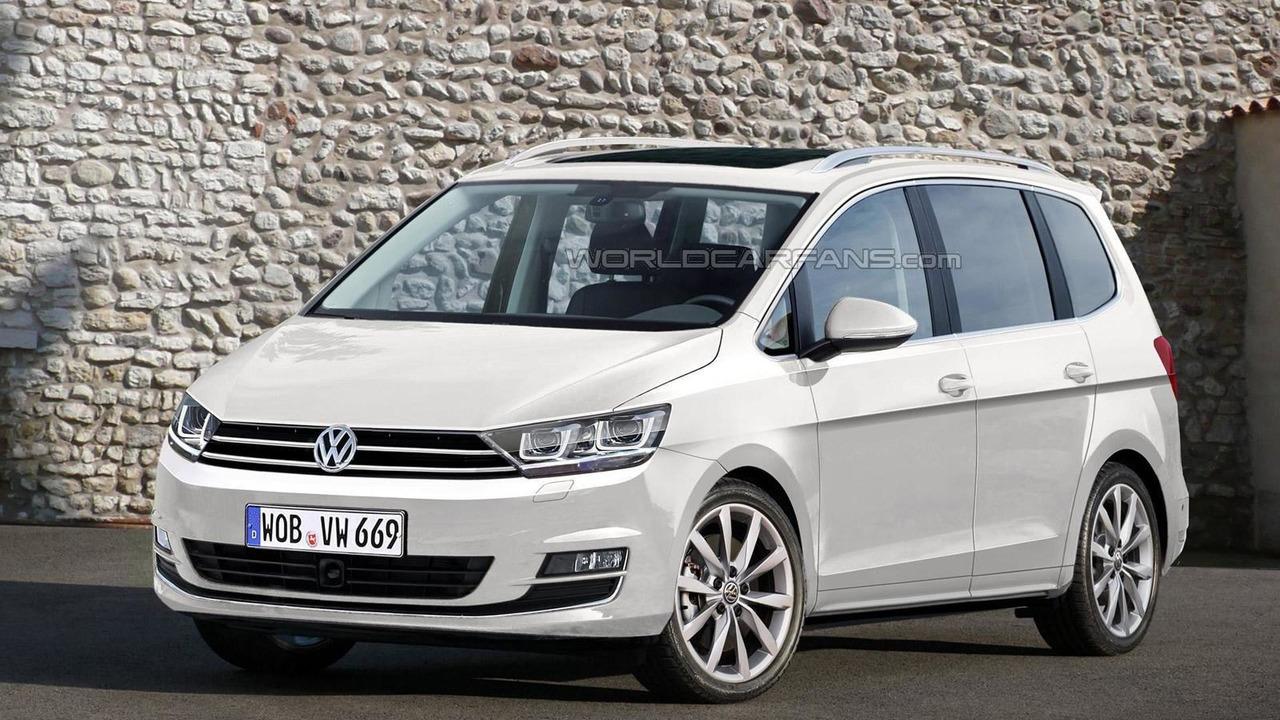 2016 Volkswagen Touran render