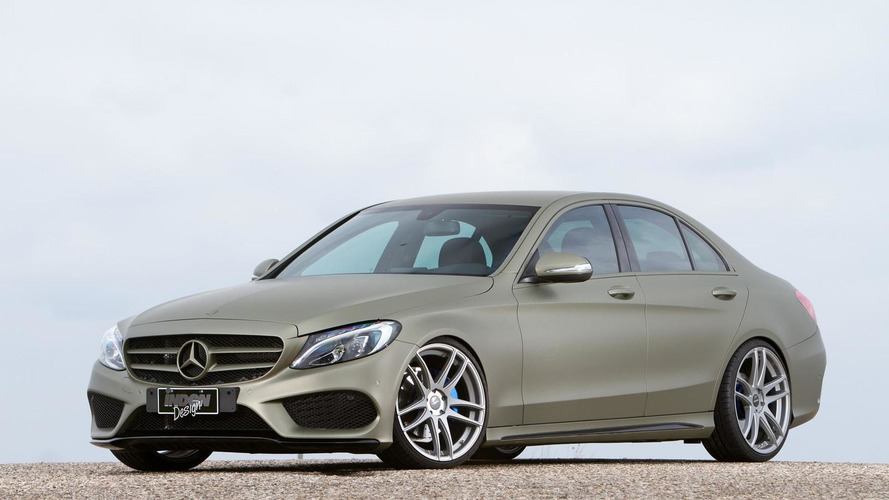 2014 Mercedes-Benz C180 AMG Line tricked out by Inden Design