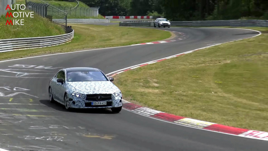 VIDÉO - La Mercedes CLS 2018 surprise sur le Nürburgring !