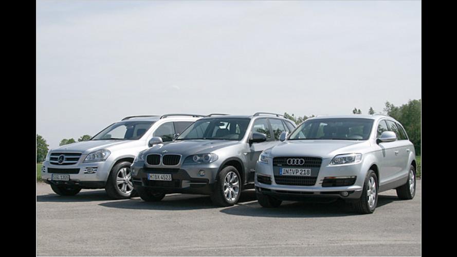 Vergleichstest SUV: Mit herzlichen Größen