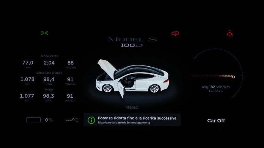 Tesla Model S Sets Production EV Range Record Of 670 Miles