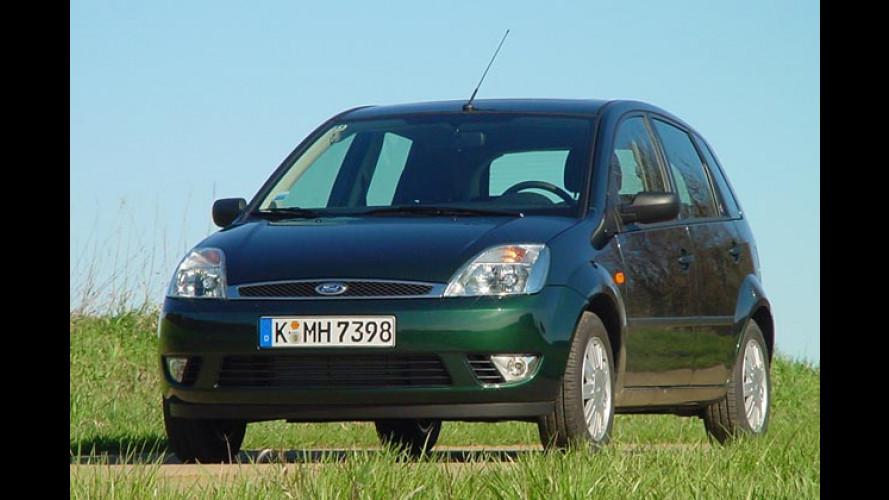 Ford Fiesta 1.4 TDCi: Kleiner Diesel mit Euro-4-Einstufung