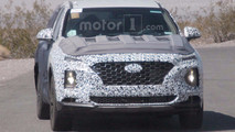 Flagra - Novo Hyundai Santa Fe exibe visual inspirado no Kona