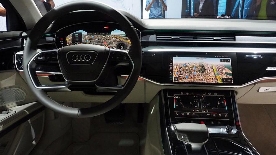 Összetett, de remek funkciókkal érkezik az új Audi A8 navigációs rendszere