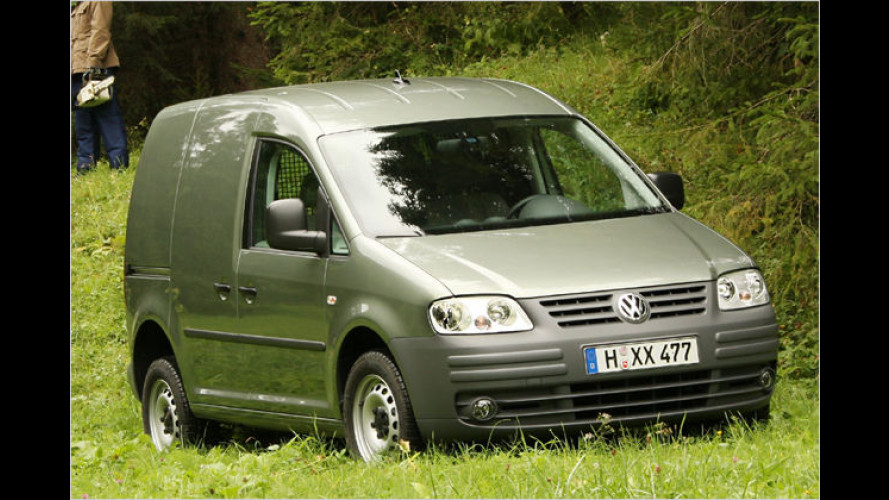 Der erste VW Caddy mit permanentem Vierradantrieb