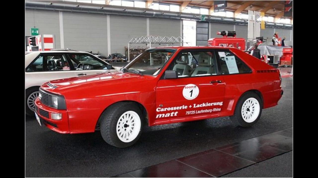 Dieser Audi Urquattro gehörte früher Herbert von Karajan und wurde laut Besitzer bereits mehrere Male von Walter Röhrl gefahren