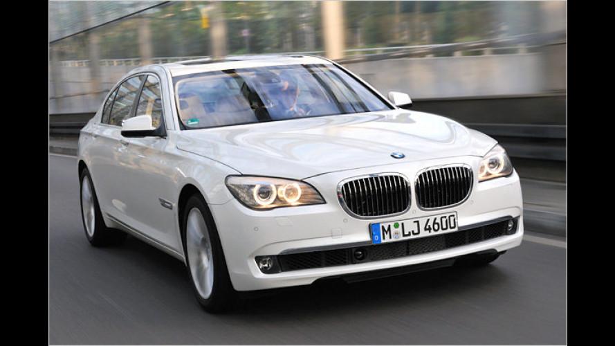 Fahren und fahren lassen: Neuer BMW 760Li mit V12 im Test