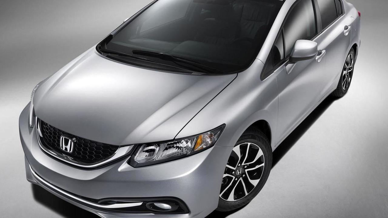2013 Honda Civic (North America) 12.11.2012
