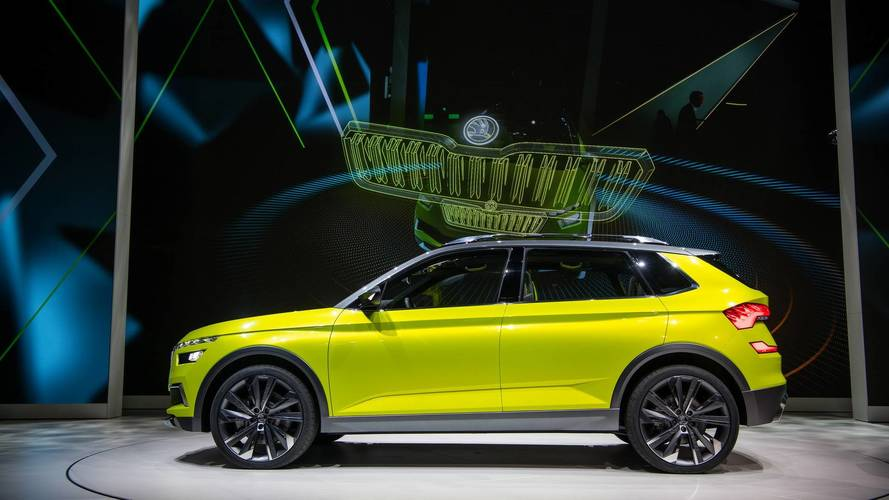 The Skoda Vision X in Geneva