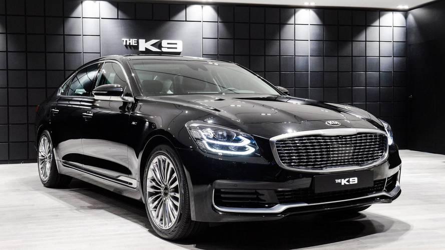 New kia k900 officially revealed as k9 for south korea for Kia motors south korea