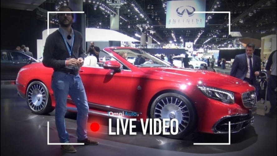 Mercedes-Maybach, ecco com'è la S650 Cabriolet [VIDEO]