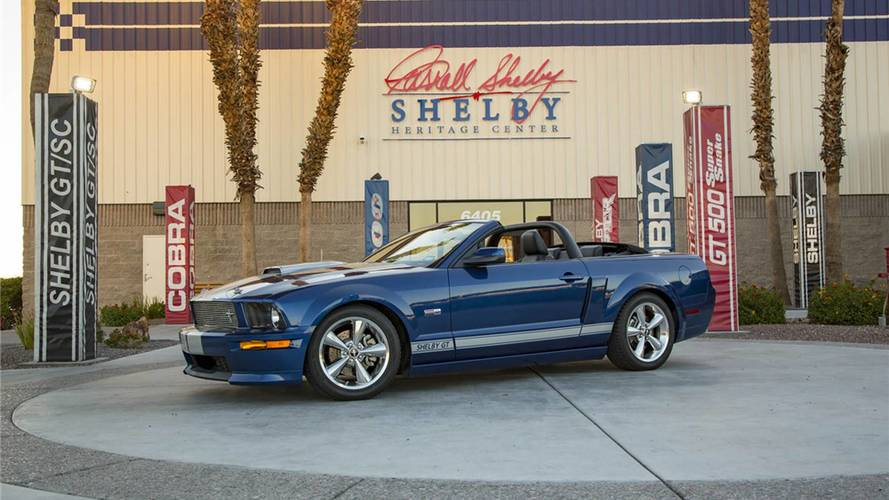 Shelby GT Prototype To Be Auctioned At Scottsdale