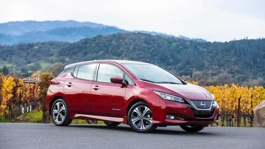 2018 Nissan Leaf Gets 151-Mile EPA Range Rating