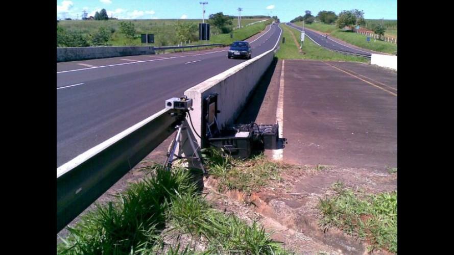 Rodovias paulistas não terão mais radares móveis