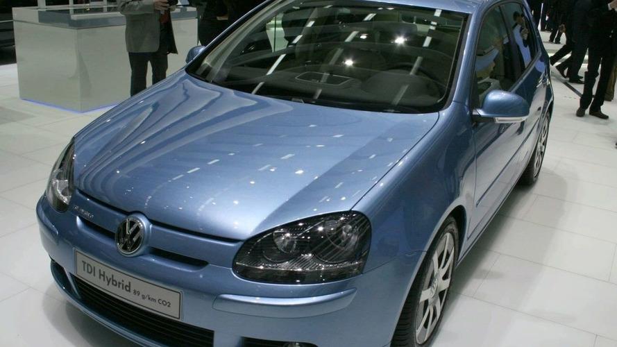 Volkswagen Golf TDI Hybrid Concept for Geneva