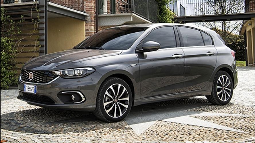 Fiat Tipo 5 porte e Station Wagon, GPL al prezzo del diesel