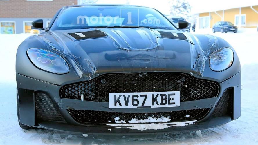 Photos espion - Aston Martin Vanquish