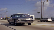 Lincoln Continental 007 dans Goldfinger