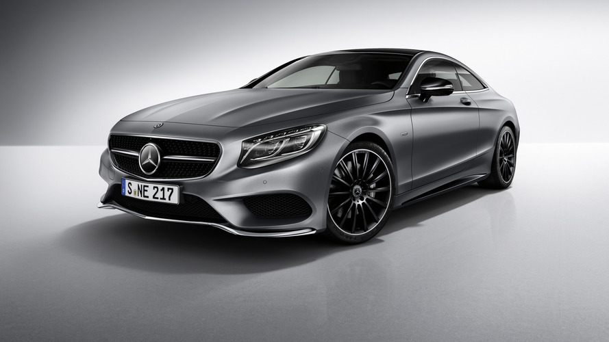 Mercedes gives S-Class Coupe black accents for Night Edition