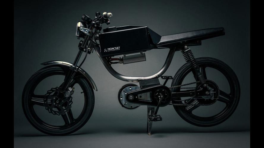 Monday Motorbikes'tan 80 km menzilli e-bisiklet