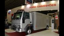 Ford expõe veículos especiais em feira de segurança no Rio de Janeiro