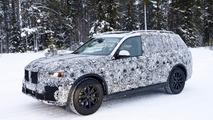 2018 BMW X7 casus fotoğrafları