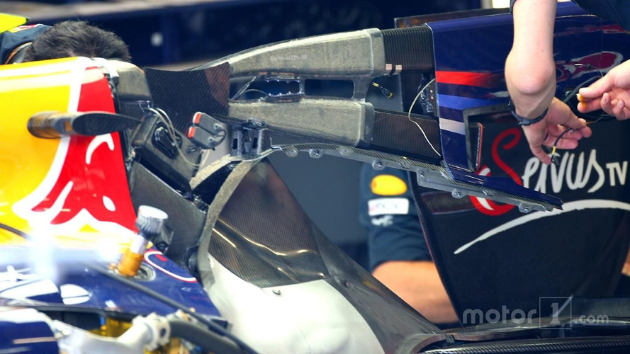 Red Bull using the F-Duct system