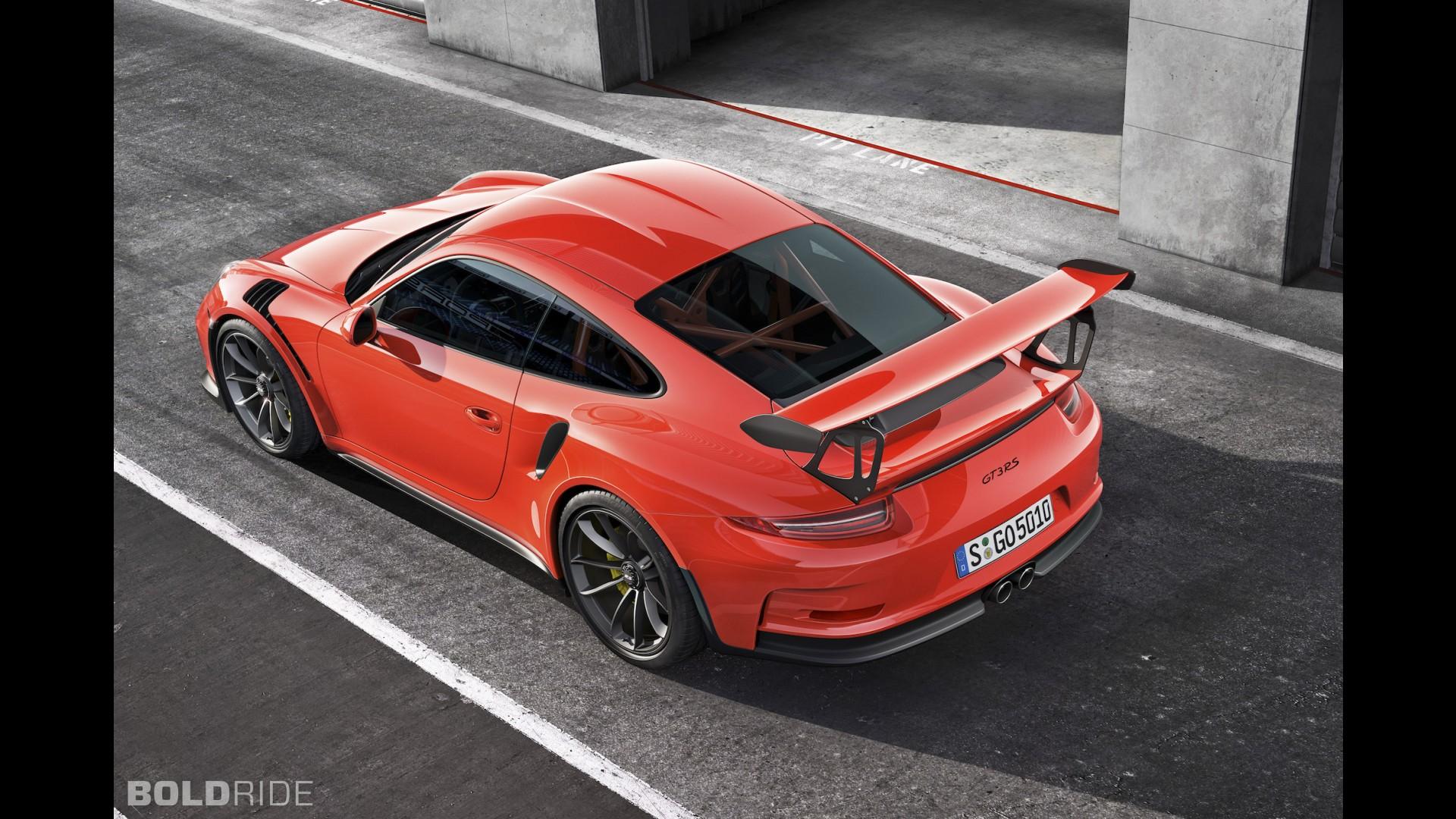 Новый Porsche 911 GT3 RS 2015 года