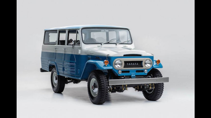 1967 Toyota Land Cruiser FJ45LV Restored to Immaculate Condition