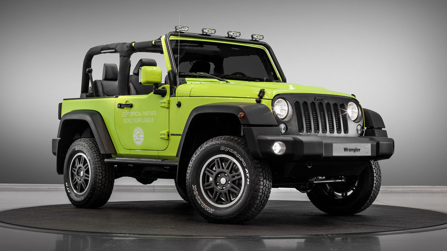 Jeep Wrangler Rubicon, Renegade receive Mopar treatments for Paris