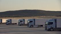 Scania truck clock