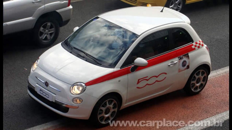 Preço definido: Fiat 500 custará R$ 61.900 no Brasil