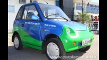 Carplace no QRX 2009 - Carro elétrico indiano Reva i é vendido no Brasil por R$ 70 mil