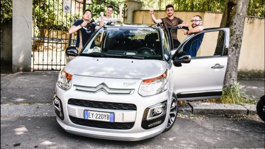 BlaBlaCar, il nostro Roma-Bologna in Citroen C3 Picasso [VIDEO]
