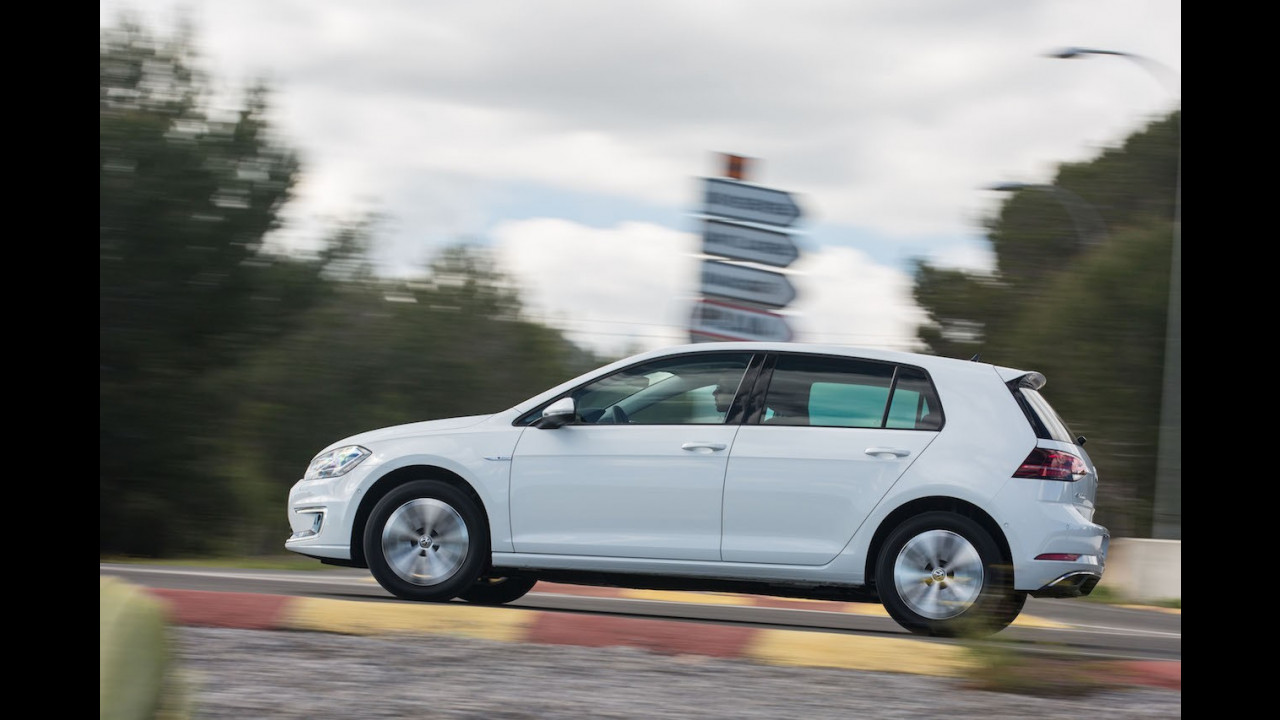 Nuova Volkswagen e-Golf test