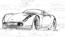 TVR Tuscan 4 drawing - 14.11.2011
