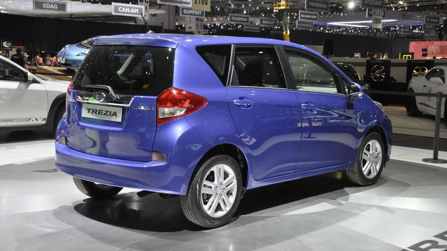 Subaru Trezia debuts in Geneva