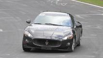 Possible Maserati GranTurismo Sport GTS spy photo, Nurburgring, Germany, 22.06.2010